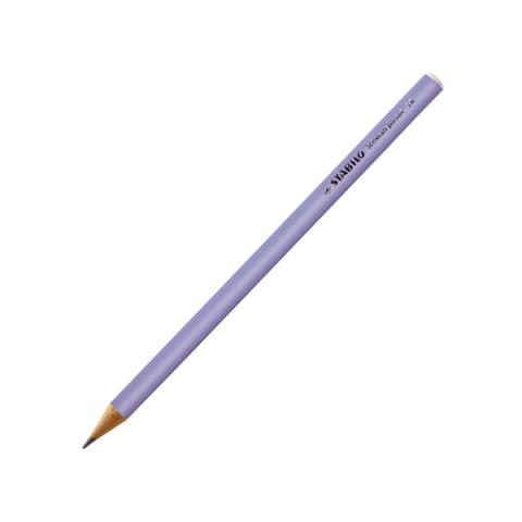 Stabilo Kurşun Kalem Pastel Lila 421/2B 12'li Kutu