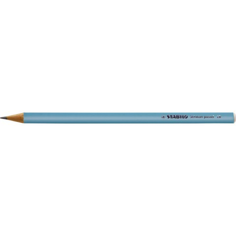 Stabilo Kurşun Kalem Pastel Mavi 421/2B 12'li Kutu