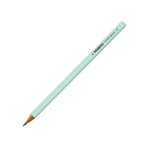 Stabilo Kurşun Kalem Pastel Yeşil 421/2B 12'li Kutu