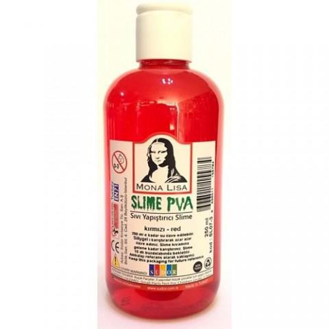 Südor Mona Lisa Slime Sıvı Yapıştırıcı Kırmızı 250 ml.