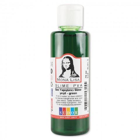 Südor Sıvı Yapıştırıcı 70 ml Slime Mona Lisa Yeşil 12 ADET