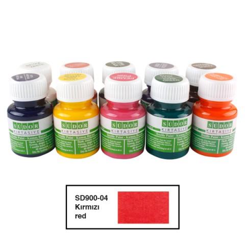 Südor Textıle Color ( Kumaş Boyası ) 25 ML KIRMIZI