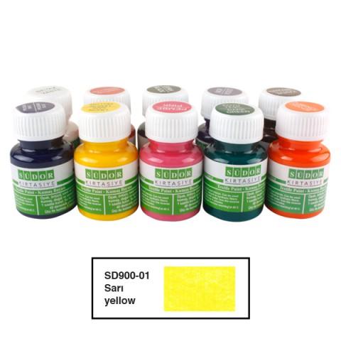 Südor Textıle Color ( Kumaş Boyası ) 25 ML SARI