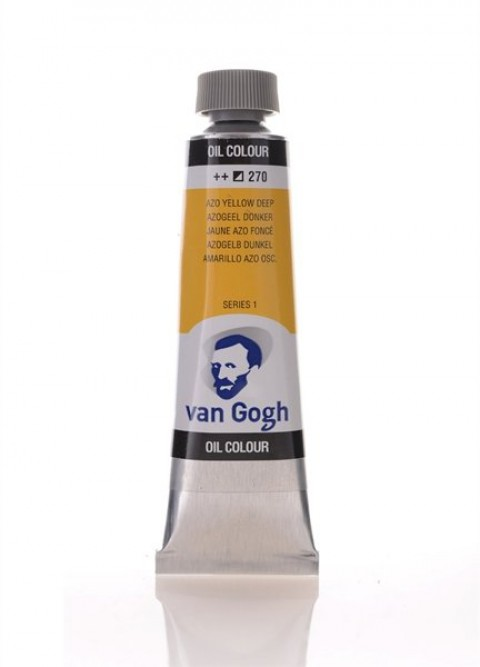 Talens Van Gogh Yağlı Boya 40 Ml. 270 Azo Yellow Deep