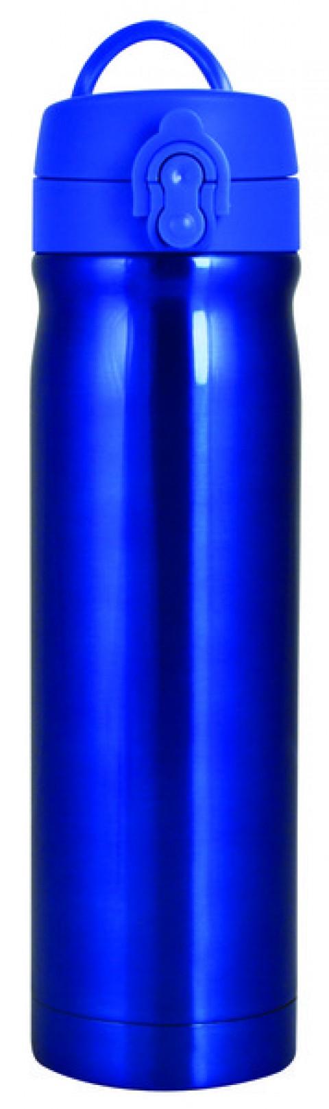 Trendix Çelik İçli Termos Matara 500ml Neon Mavi