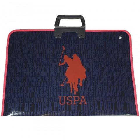 U.S. Polo Assn. Lacivert Çizim Çantası 20287