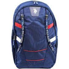 U.s. Polo Assn. Mavi-Kırmızı Sırt Çantası 9244