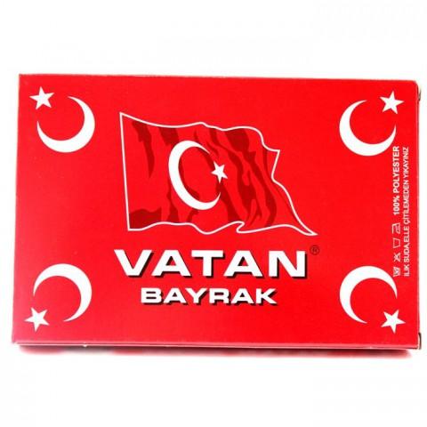 VATAN 30x45 cm TÜRK BAYRAĞI