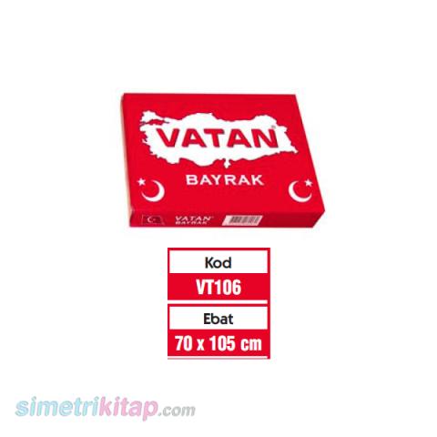VATAN 70x105 cm TÜRK BAYRAĞI
