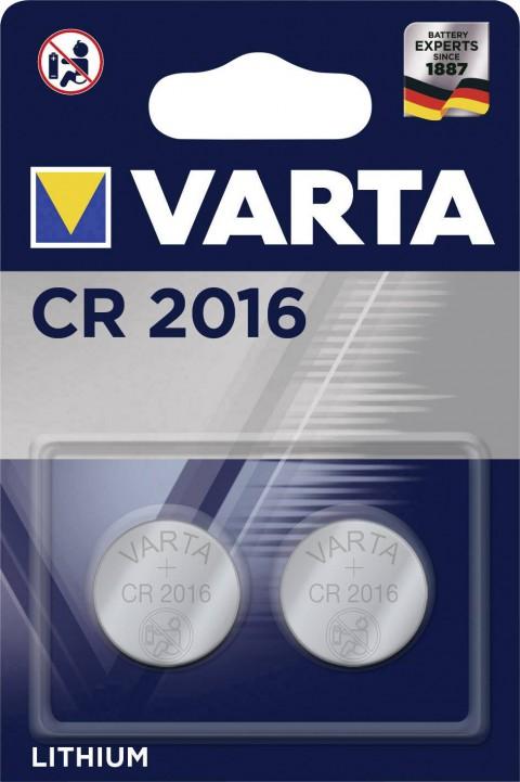 Varta Lithıum Para Pil 2'li CR-2016
