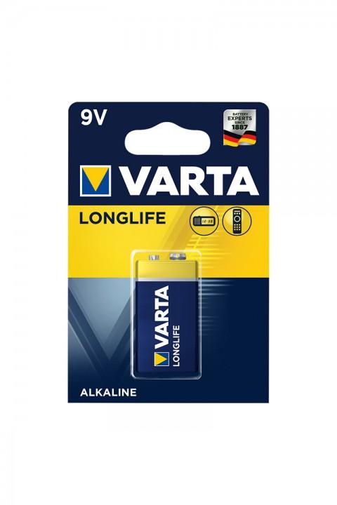 Varta Longlife Alkaline Pil 9 Volt