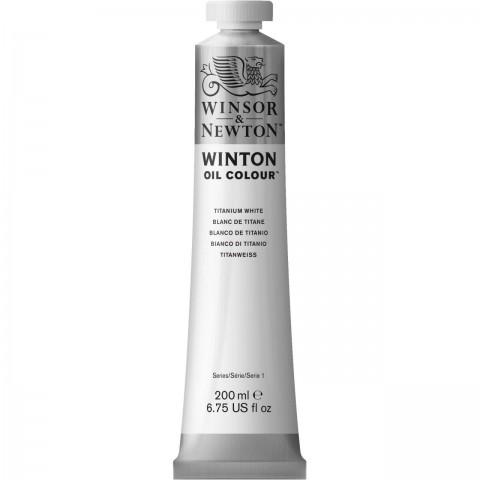 Winsor & Newton Yağlı Boya 200 Ml 644 Titanium White