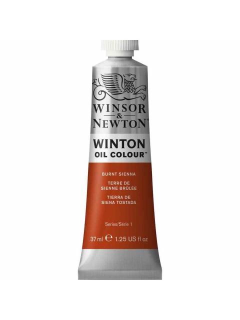 Winsor Newton Yağlı Boya 37ml 074 Burnt Sienna (2)