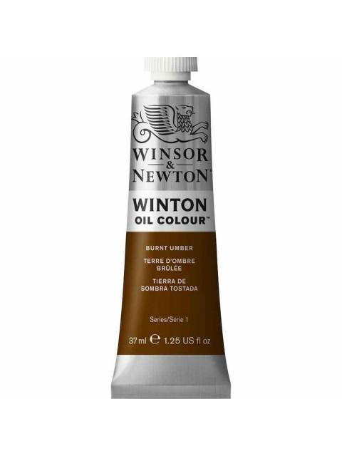 Winsor Newton Yağlı Boya 37ml 076 Burnt Umber (3)