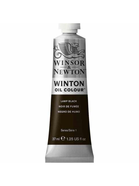 Winsor Newton Yağlı Boya 37ml 337 Lamp Black (25)