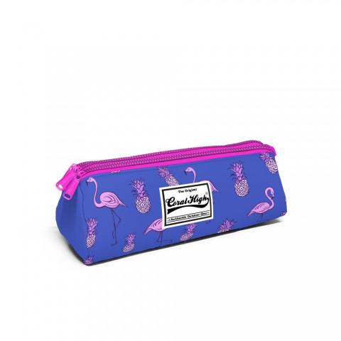 Yaygan Coral High Kalemkutusu Üç Bölmeli - Flamingo 22212