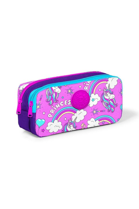 Yaygan Coral High Kids Unicorn Desenli Iki Bölmeli Kalem Çantası 22283